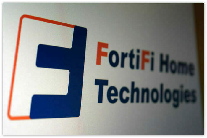 Logo Design for FortiFi Home Technologies