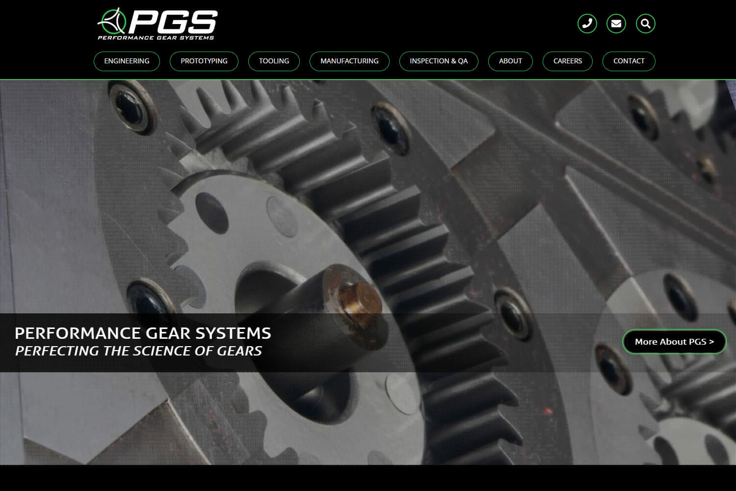 Performance Gear Systems Website