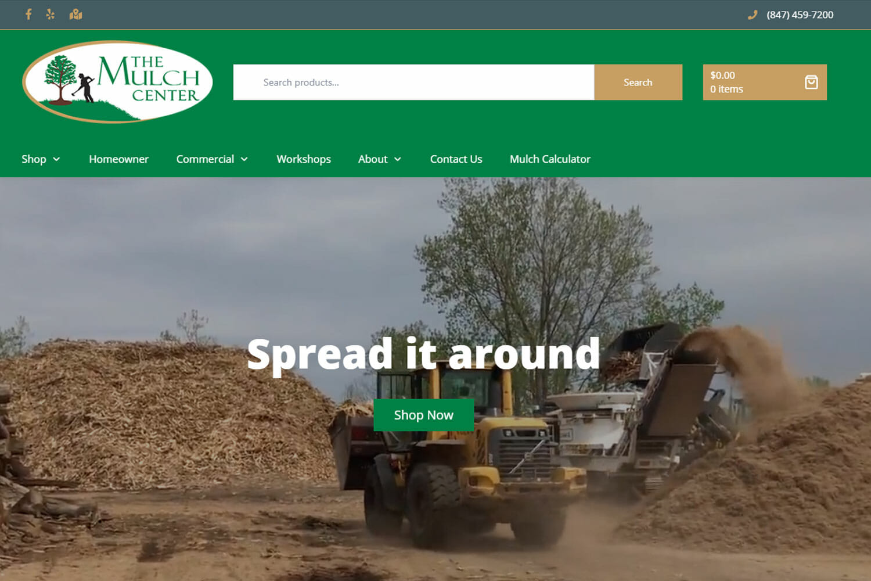 Mulch Center Website