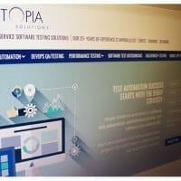 Utopia Solutions Web Design