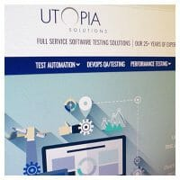 Website Redesign for Utopia Solutions